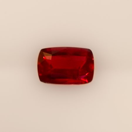 1.5 ct Natural Ruby Cushion Shape Unheated