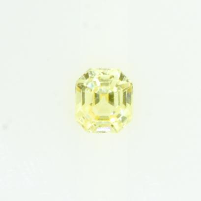 1.1 ct Natural Yellow Sapphire Emerald Shape Unheated