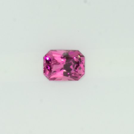 0.85 ct Natural Pink Sapphire Emerald  Shape Unheated