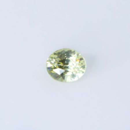 1.03 CT NATURAL YELLOW SAPPHIRE OVAL CUT UNHEATED