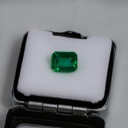 3.68  Carats Loose Emerald  Colombian Emerald
