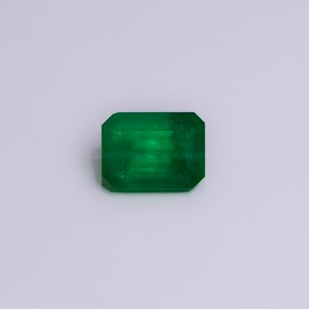 4.8  Carats Loose Colombian Emerald  Certified Emerald
