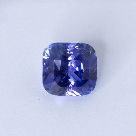 2.54 CT NATURAL BLUE SAPPHIRE CUSHION CUT