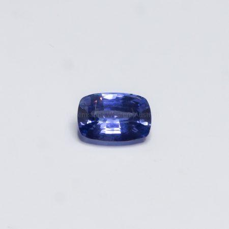 2.02 CT NATURAL CORNFLOWER  BLUE SAPPHIRE CUSHION  CUT