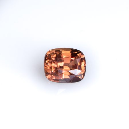 3.03 CT UNHEATED NATURAL PADPARADSCHA CUSHION CUT  CERTIFIED
