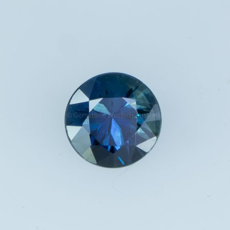 1.03  CT UNHEATED NATURAL TEAL  GREEN-BLUE SAPPHIRE   CERTIFIED