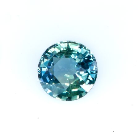 1.12  CT UNHEATED NATURAL TEAL  GREEN-BLUE SAPPHIRE   CERTIFIED